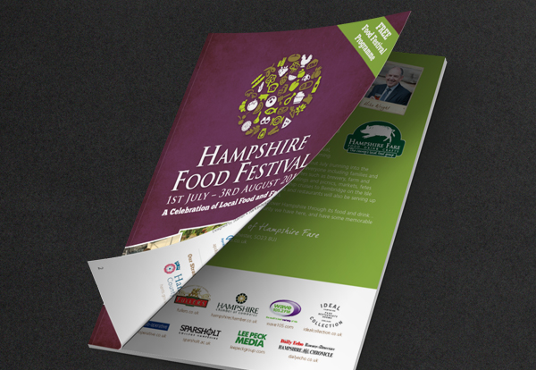 Hampshire Food festival programme