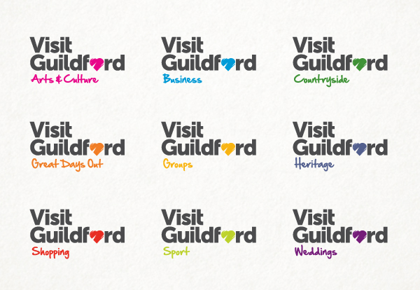 Visit Guildford Logo design