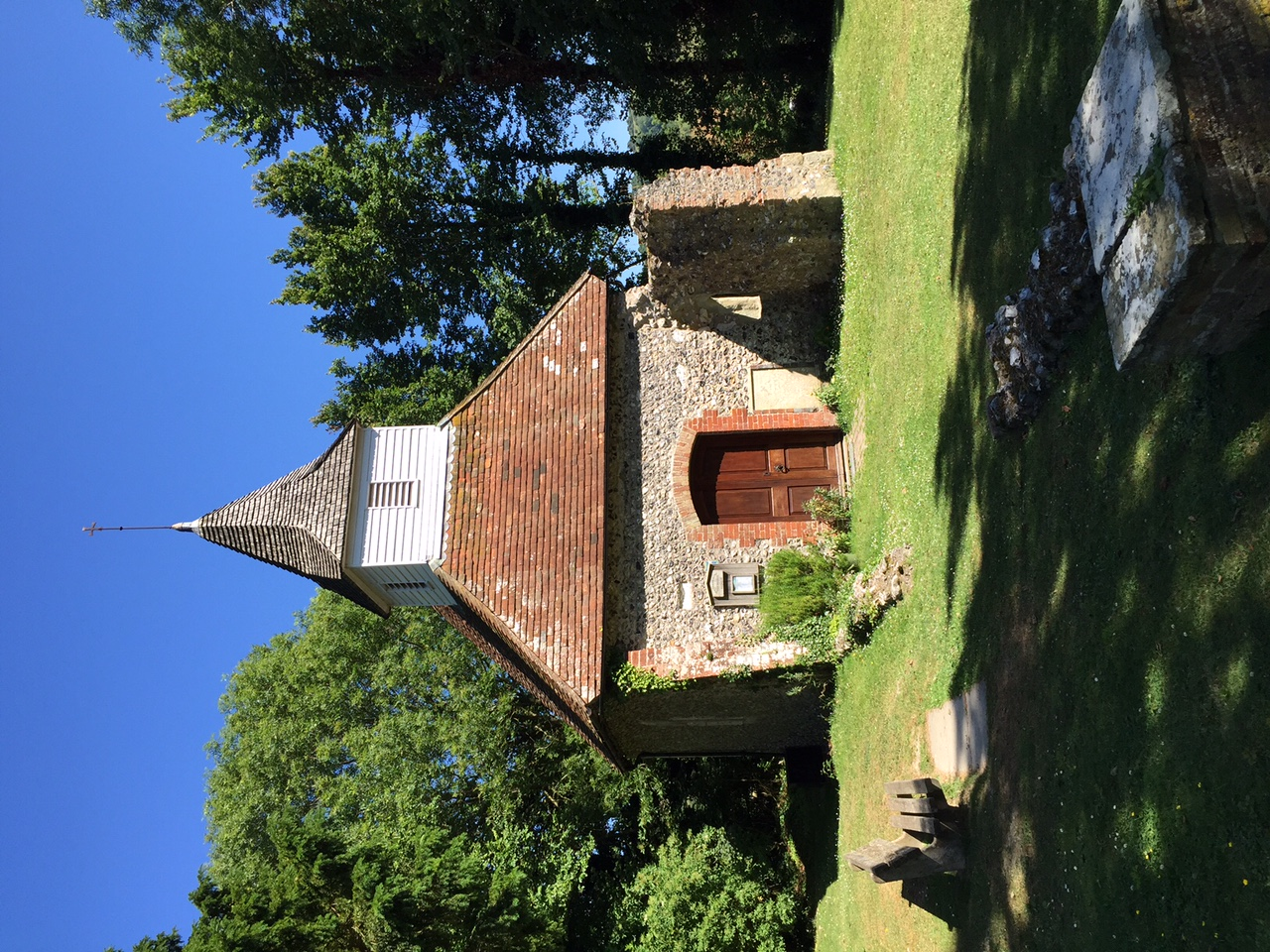 Lullington Church, the smallest church in England!