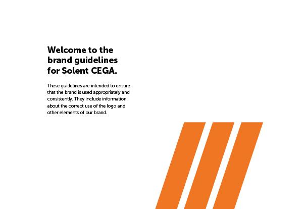 Brand Guidelines for Solent CEGA