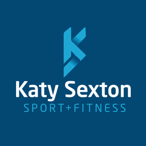 New branding for Katy Sexton    We were delighted to be approached by the World Champion and Olympic swimmer to create a new brand for her business, Katy Sexton Sport & Fitness.   Part of the brief was that the business offers all aspects of coaching and personal training and was not specifically about swimming. With that in mind, the logo design used her initials as the main motif, and paired with a clean a crisp font creates a polished and professional brand.