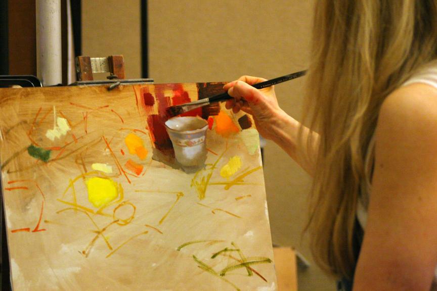 Nancy Painting teacup.JPG