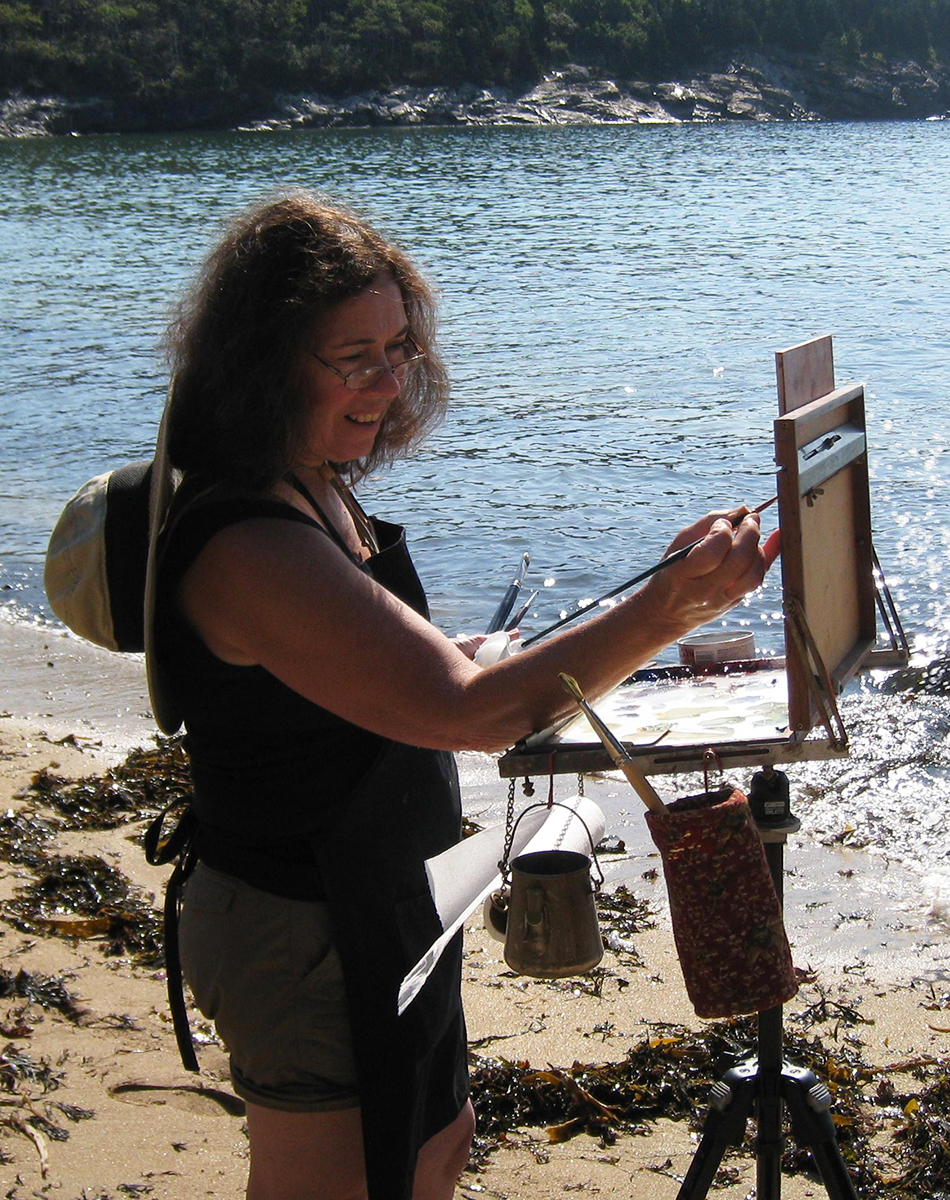 Kathy Anderson, along with many other master artists will be giving workshops.