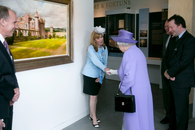Kristen Thies meeting the Queen of England!