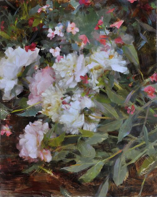Richard Schmid Palette