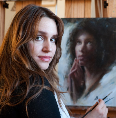 "MICHELLE DUNAWAY     ""Painting the Figure & Portrait en Plein Air"""