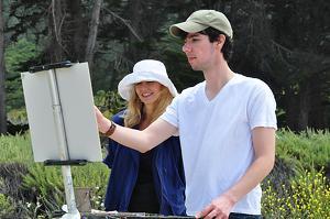 """DANIEL KEYS   """"Alla Prima Gardenscapes"""""""
