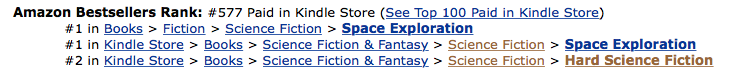 THE HERETIC AT #577 in the Amazon UK Store