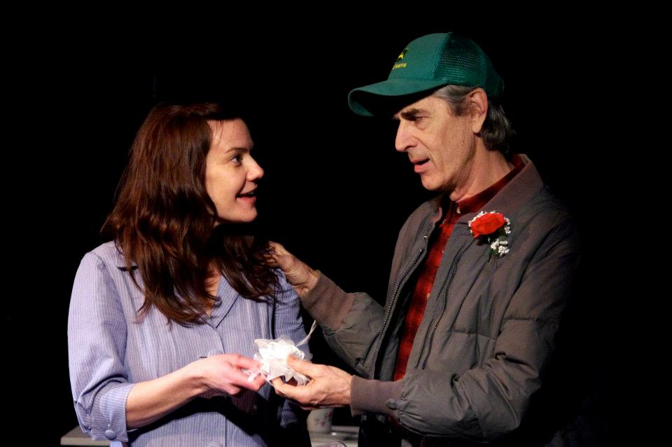 Renee Hackett as Eliza and Greg Malone as Loomis, Our Eliza 2013.