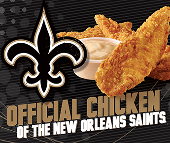 RAISING CANE'S - NEW ORLEANS SAINTS