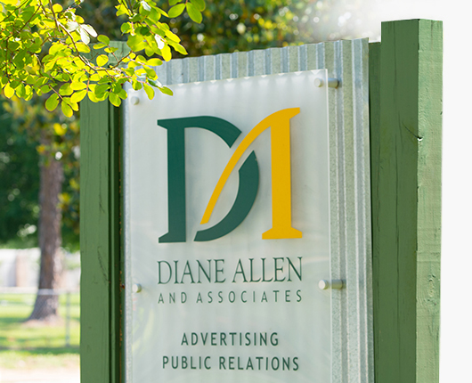 Baton Rouge Marketing Company Sign Photo  - Diane Allen and Associates