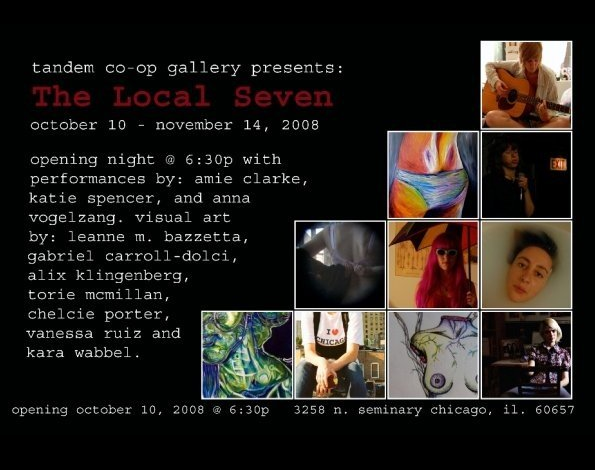 Tandem Co-Op Gallery - The Local Seven (2008)