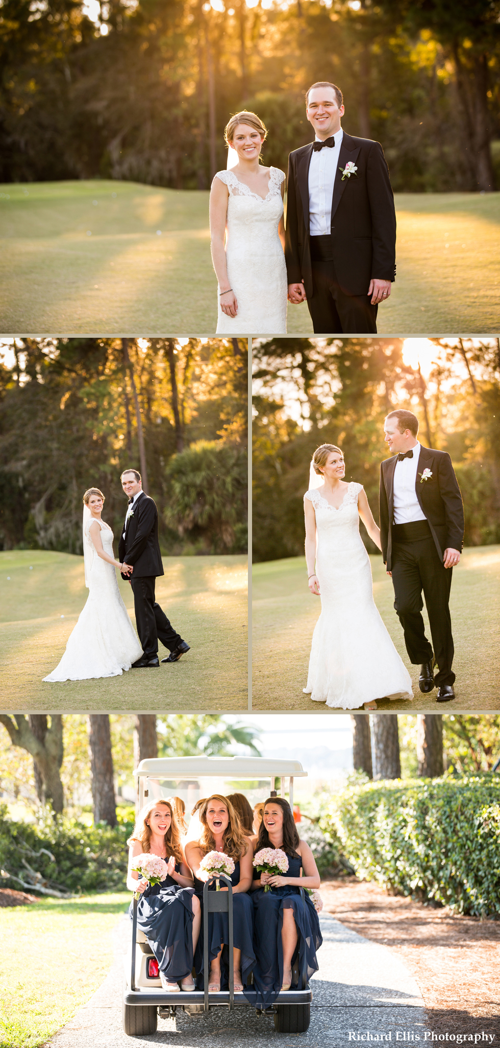 Sneak peek of Jennifer and David's wedding photographed by Charleston wedding photographer Richard Ellis Photography