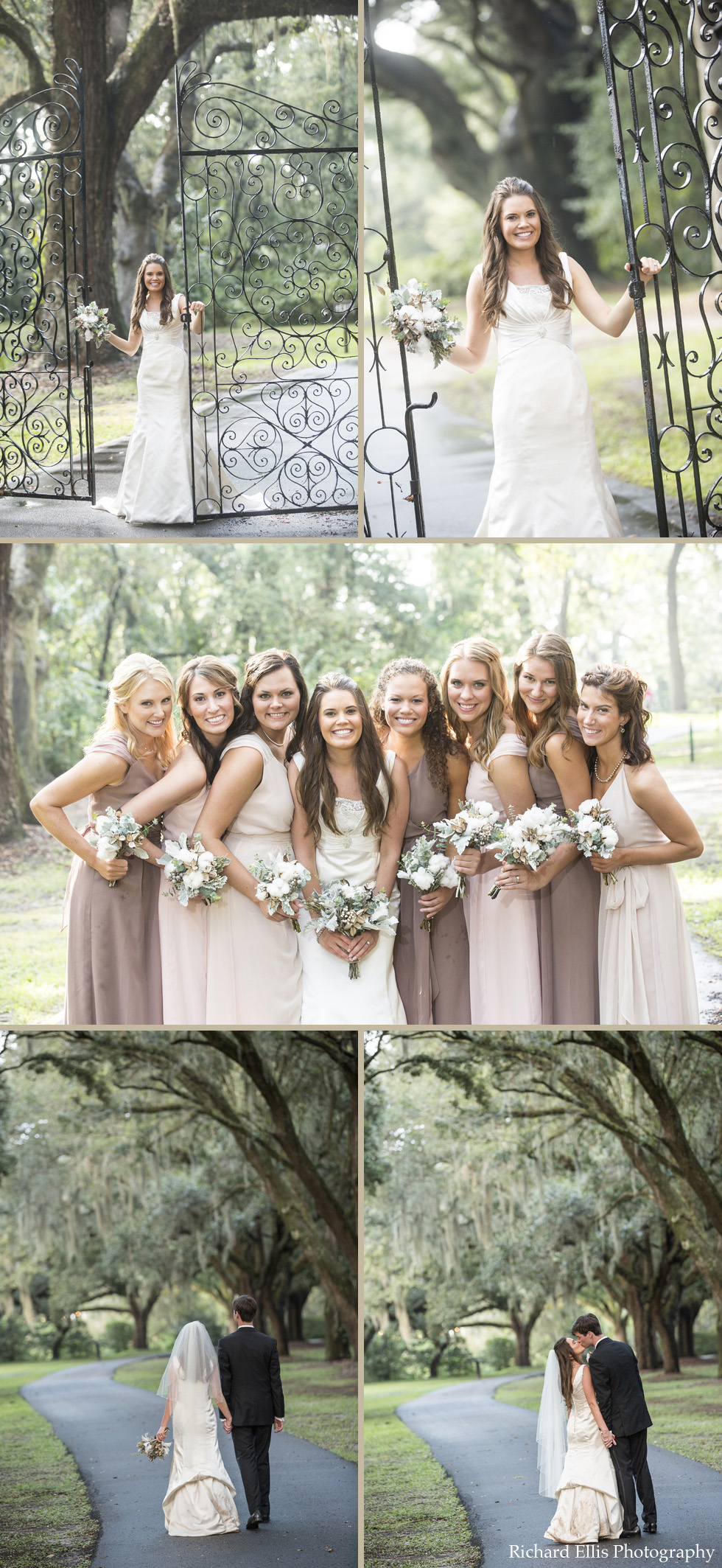 Emily and Ryan's Charleston wedding at the Legare Waring House photographed by Charleston photographer Richard Ellis Photography