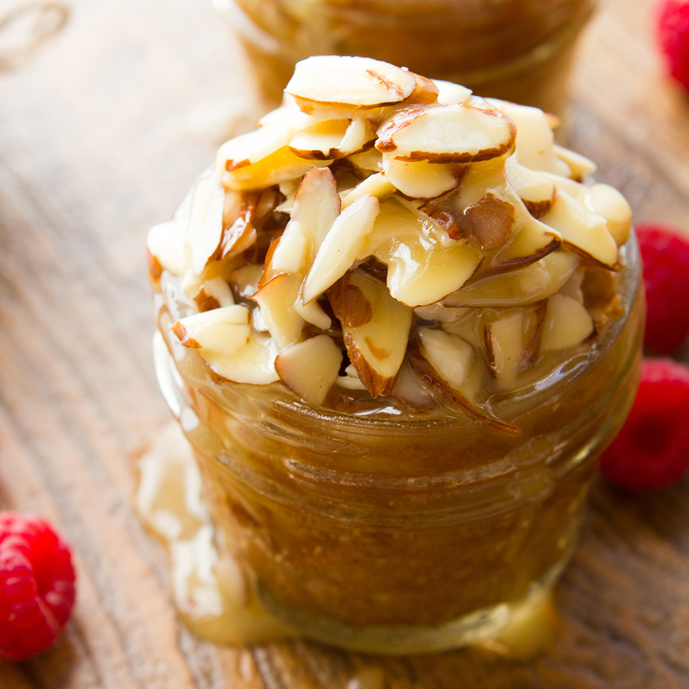 Honey-Almond Cake in a Jar
