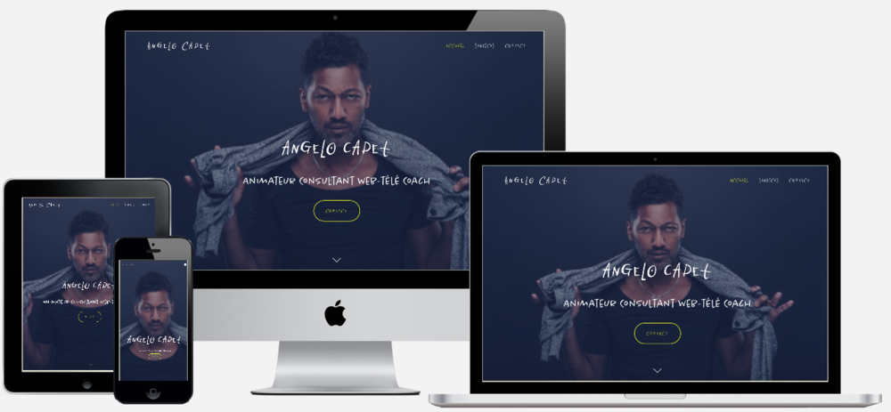 ANGELO CADET         — VIEW PROJECT ➤