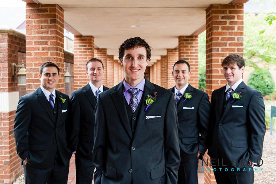 Groom & Groomsmen  | Raleigh Wedding Florist