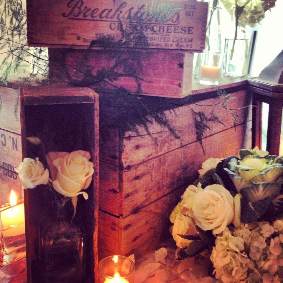 Rustic Flair Wedding Arrangement  | Raleigh Wedding Florist