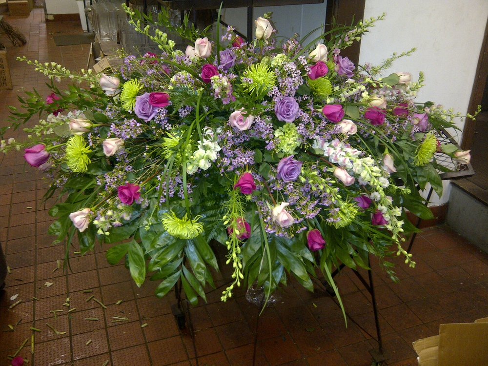 Arrangement Ready To Leave  | Raleigh Special Occasion Florist | Flowers by Kyle
