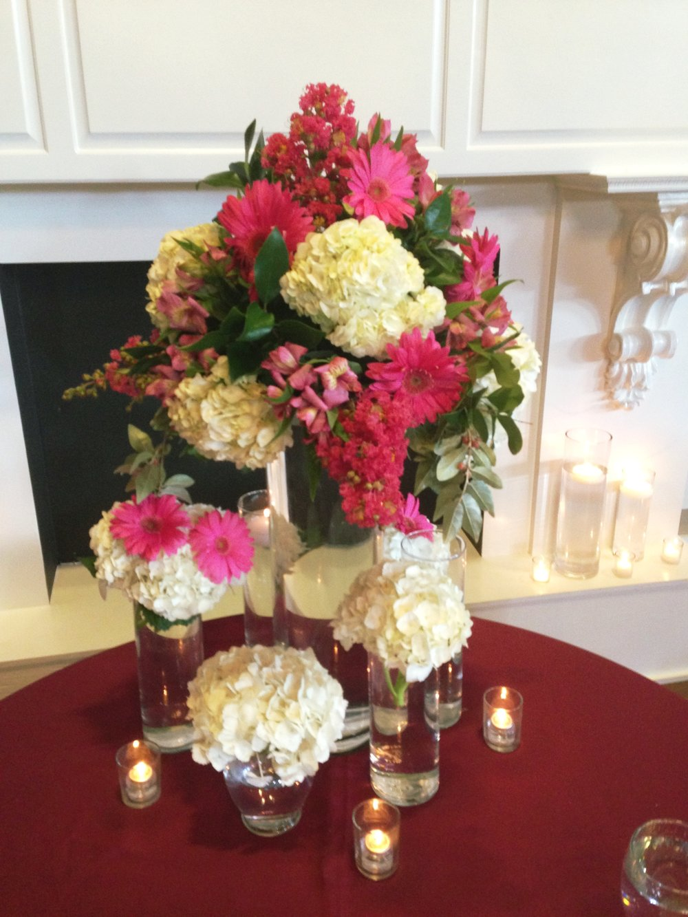 Colorful Table Arrangement  | Raleigh Special Occasion Florist | Flowers by Kyle