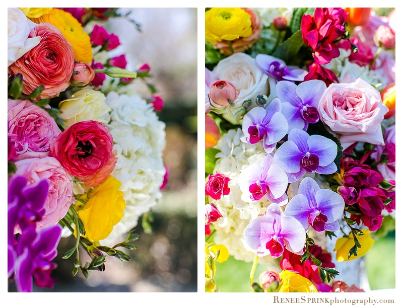 Spring Flowers Detail  | Raleigh Special Occasion Florist | Flowers by Kyle