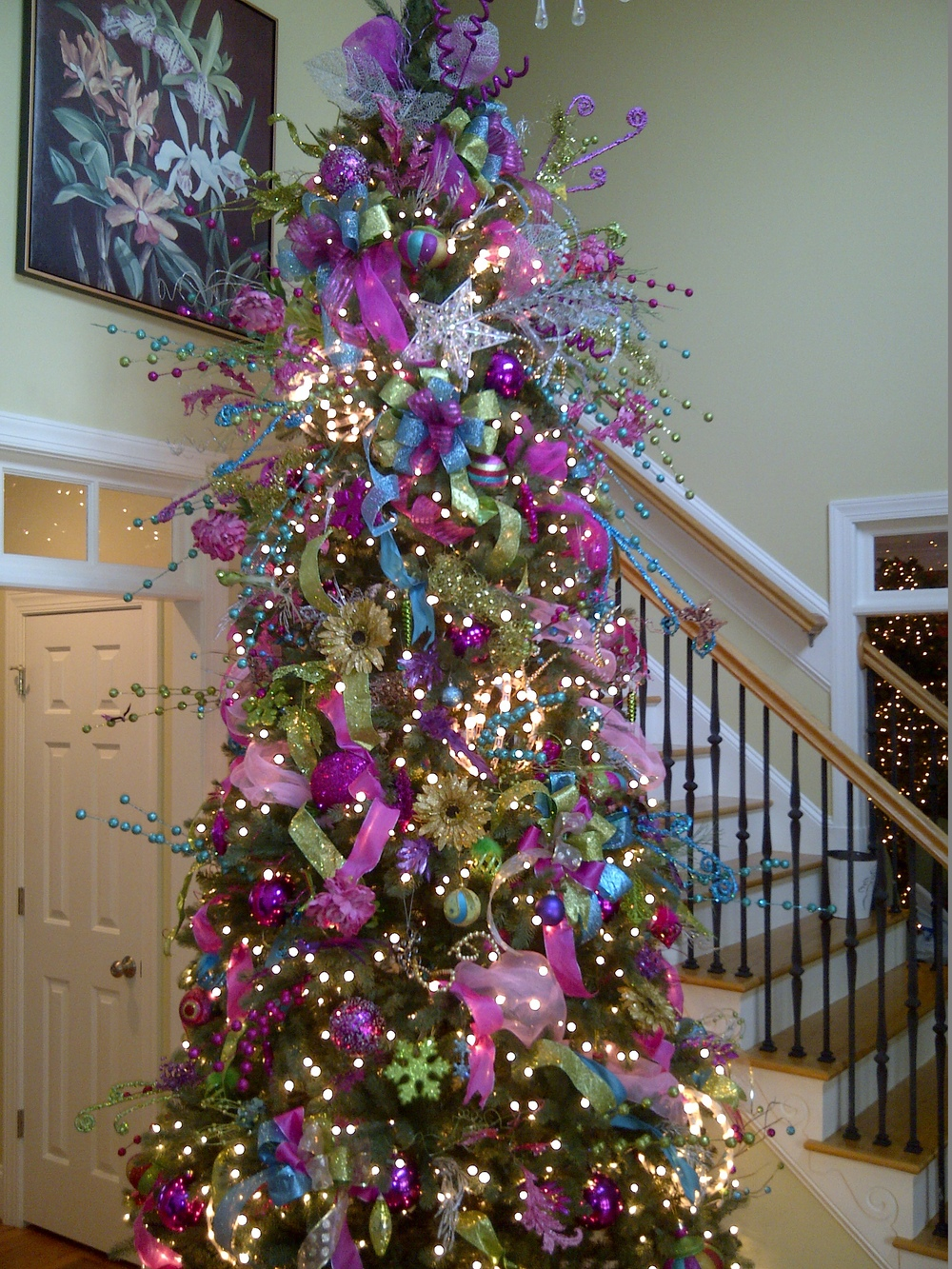 whimsical tree christmas tree decorating service flowers by kyle - Christmas Tree Decorating Service
