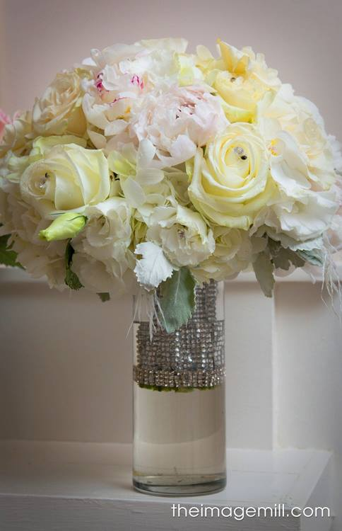 All The Whites Wedding Bouquet  | Raleigh Wedding Florist