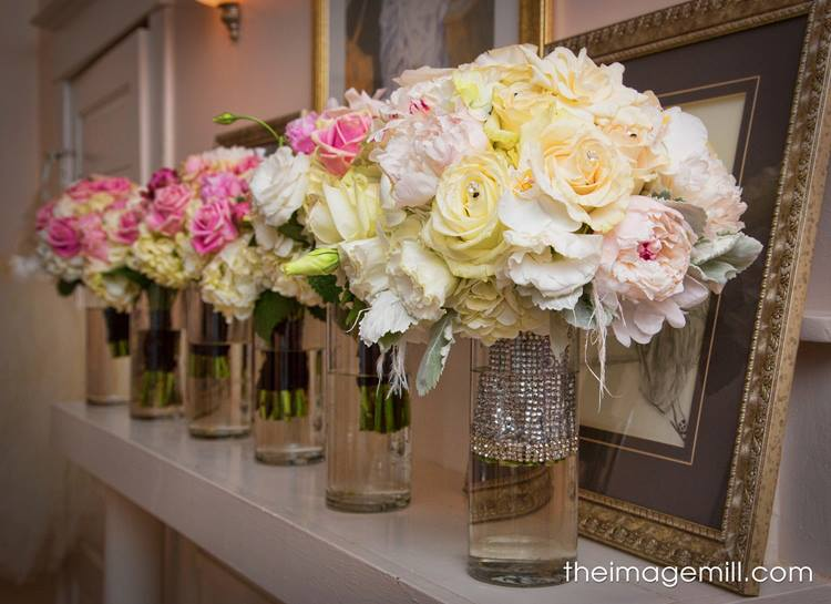 Bride & Bridesmaids Bouquets | Raleigh Wedding Florist | Flowers by Kyle