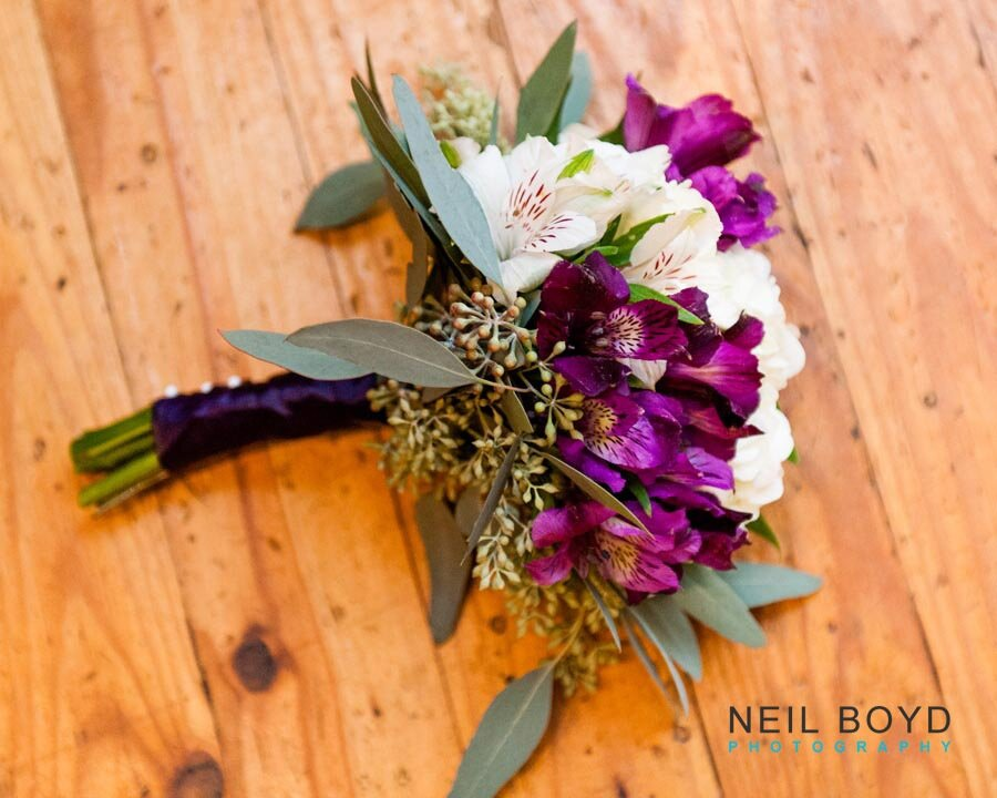 Natural Bridal Bouquet  | Raleigh Wedding Florist