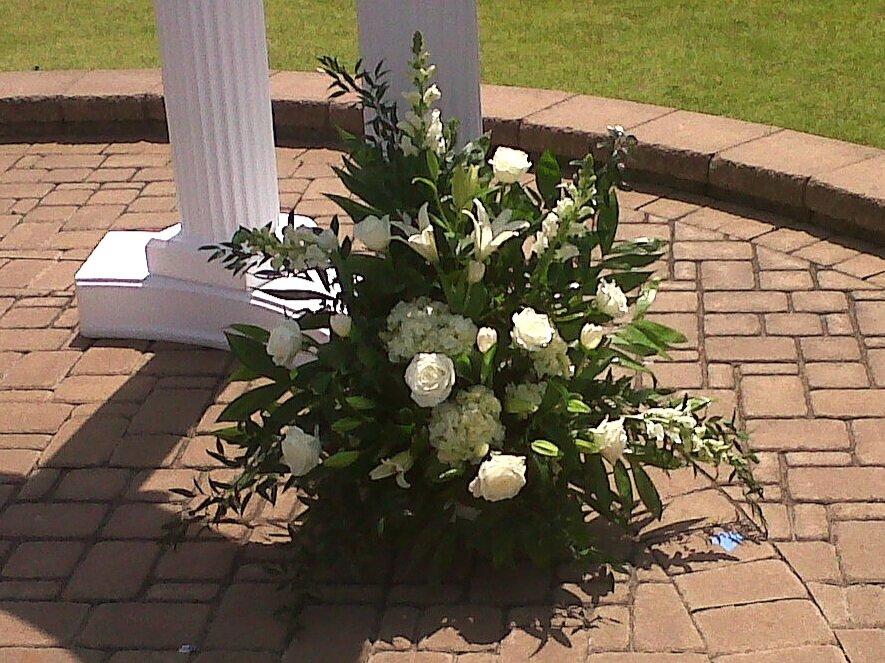 Outdoor Wedding Flowers  | Raleigh Wedding Florist