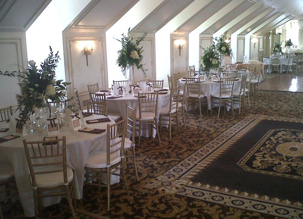 Wedding Reception Table Arrangements