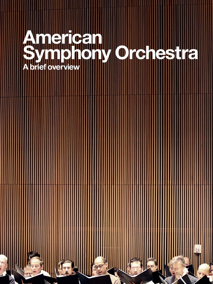 American Symphony Orchestra  Director - Erik Montovano