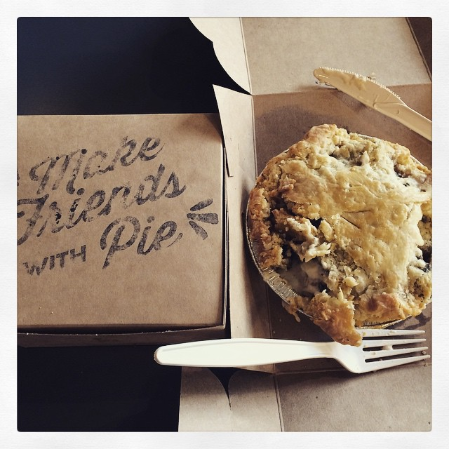It was Pi Day on Saturday! PIE FOR EVERYONE! (Victoria Pie Co. GO THERE!)
