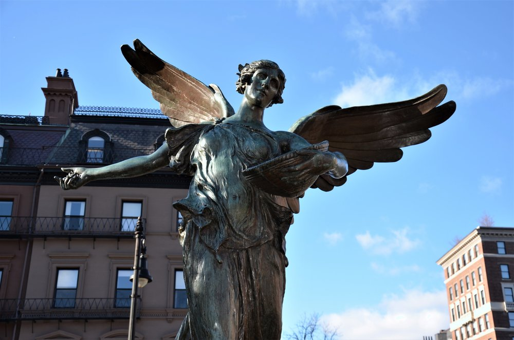 Angel of the Waters - Boston Public Garden
