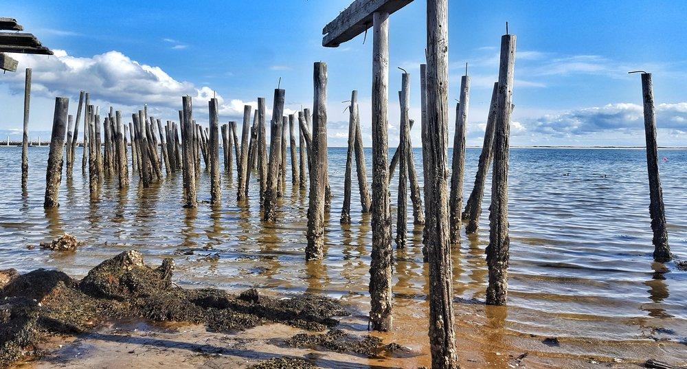 Wharf Ruins - Provincetown, Massachusetts
