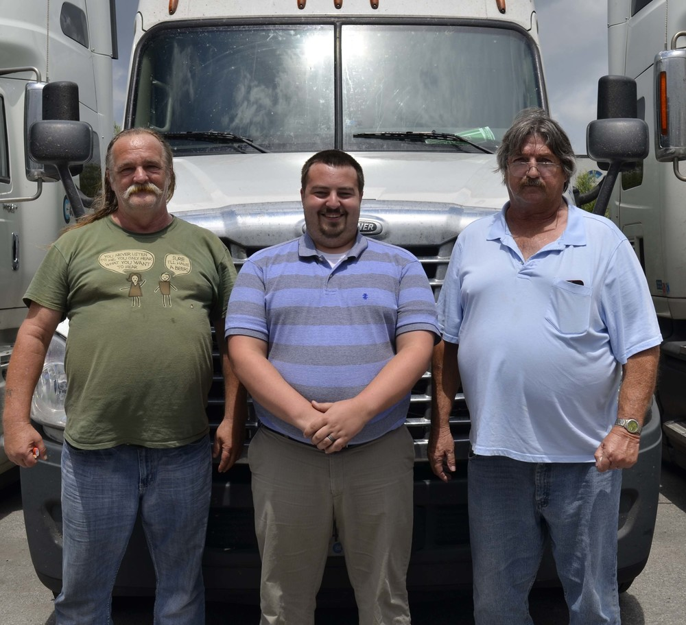 """Their advice to all drivers: """"Good communication with Driver Manager, set your work time to your advantage, and keep up on your MACROS for info to readiness. Plan trips a little old school trk with today's new ways."""""""