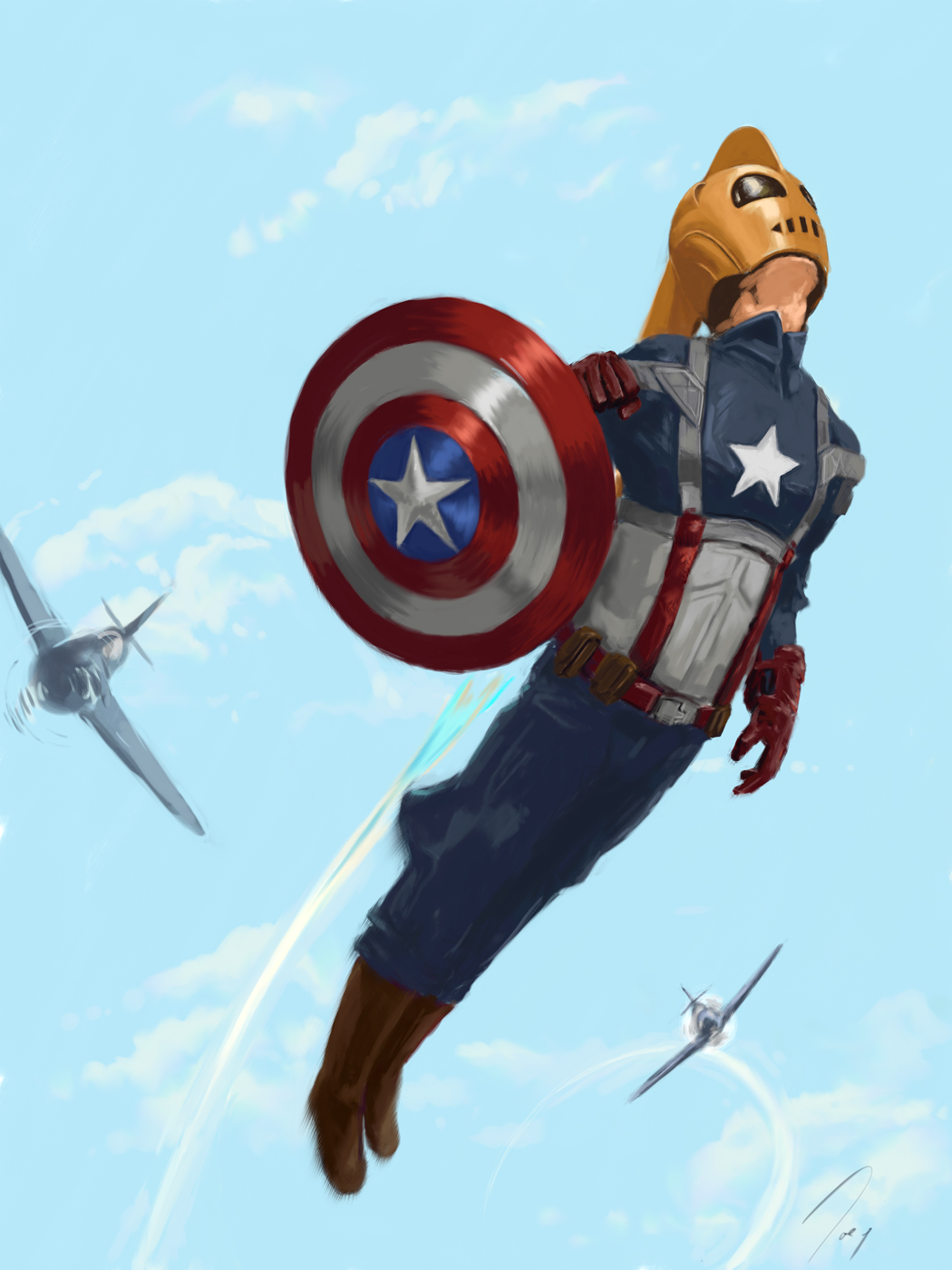The Captain Rocketeer