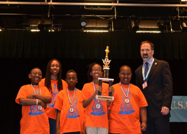 Chess-in-the-Schools has worked with our students for the past six years and has developed a strong chess program.