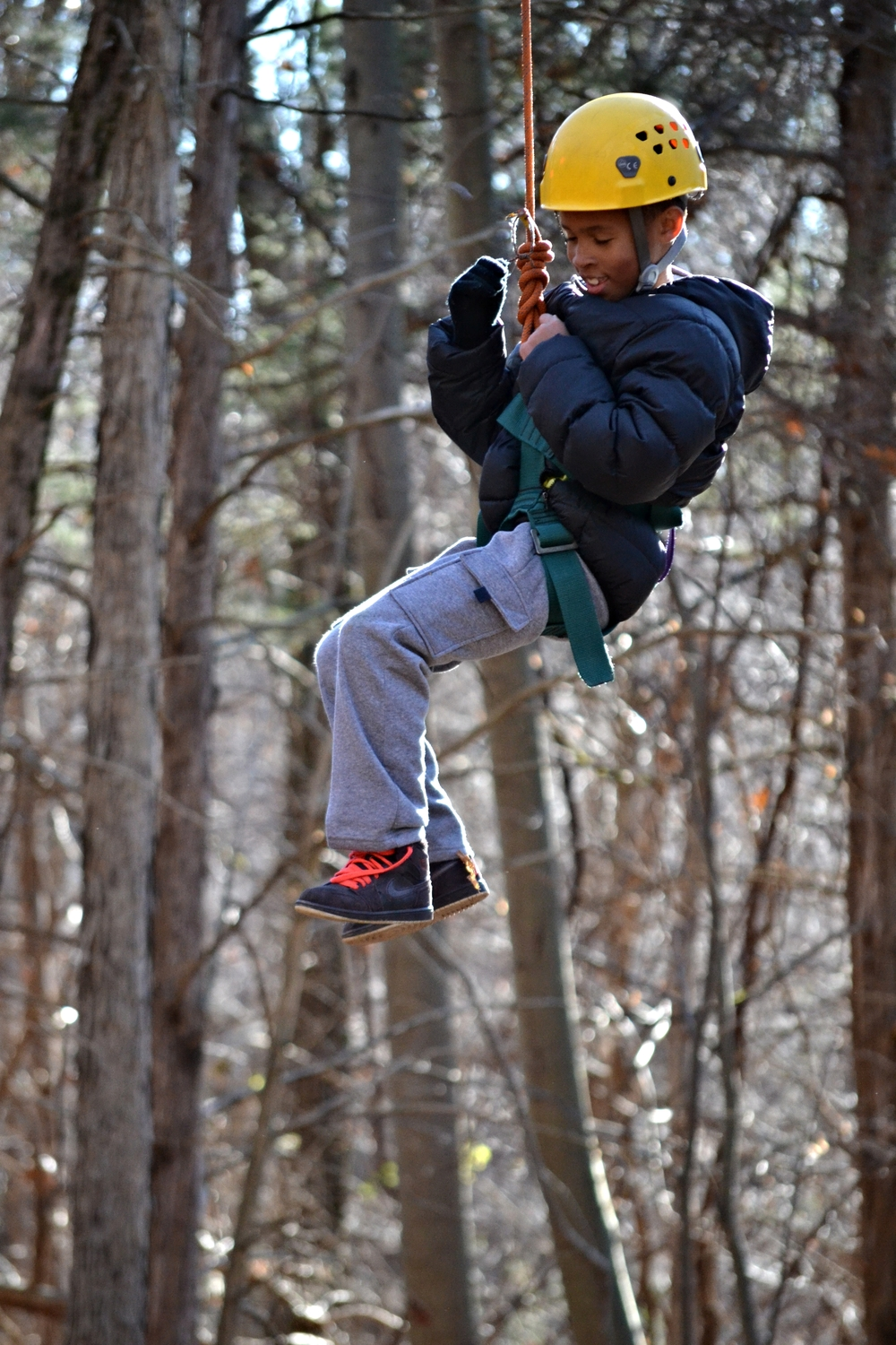 Every fall our 4th graders go upstate on an overnight trip to Camp Ramapo. Ramapo is a highlight of the 4th grade year and a great opportunity for students to develop self-confidence and grow as a community.