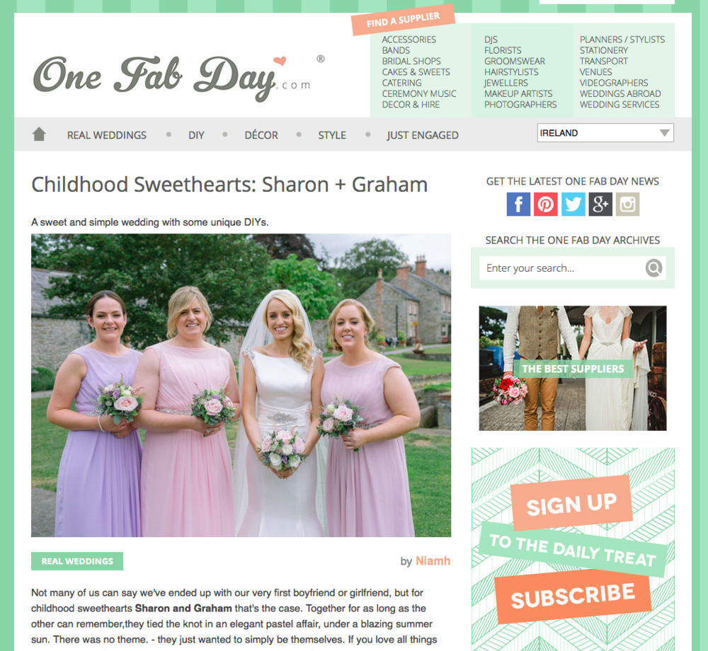 One Fab Day's Website