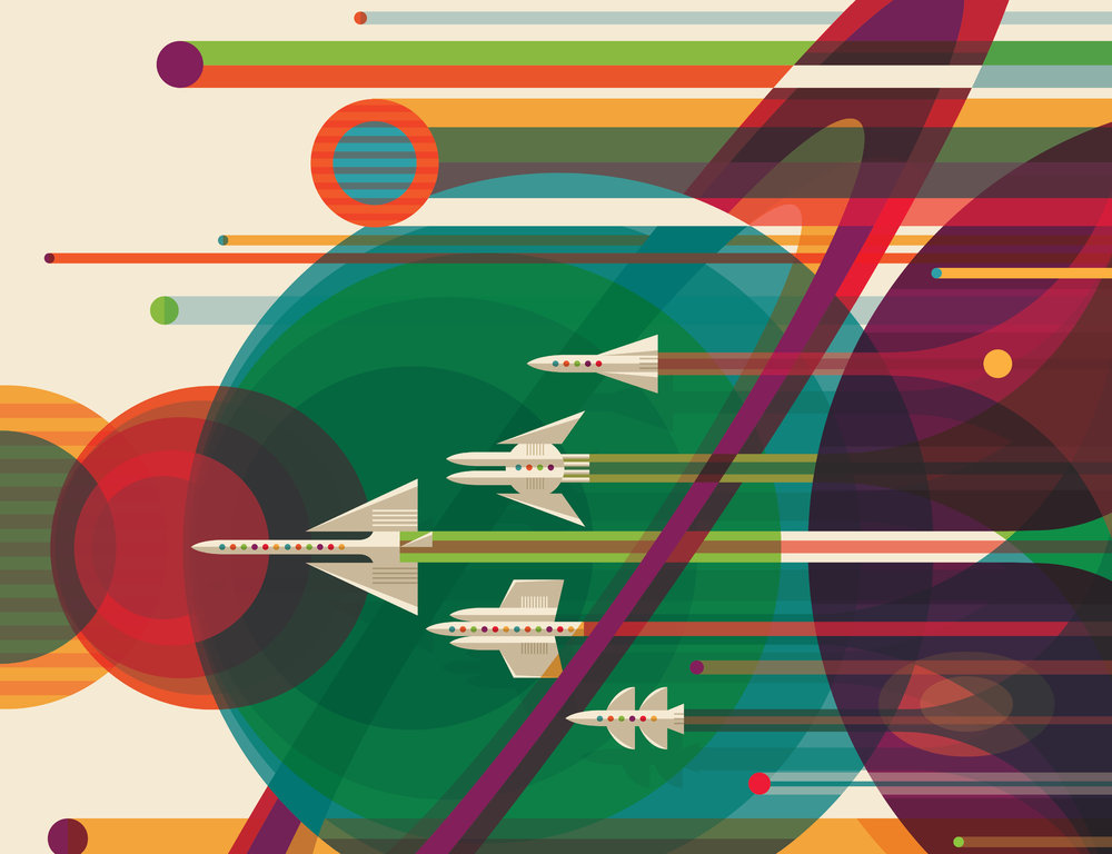 Exoplanet Travel Posters, NASA/JPL