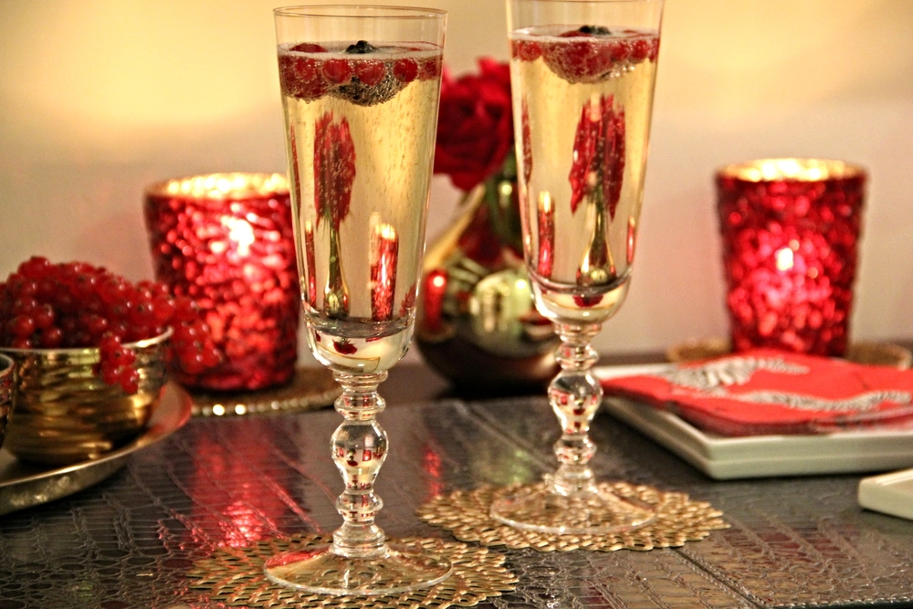 valentine's day cocktail party for two - dessert & champagne bar, Ideas
