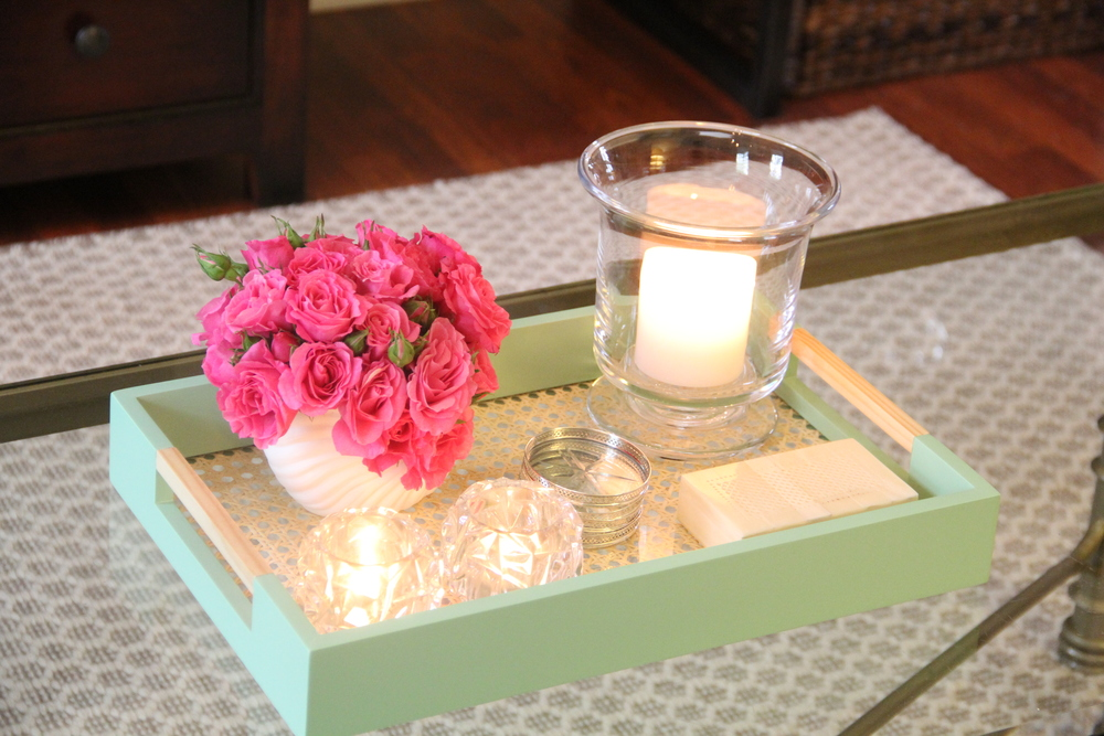 Coffee Table Flowers.JPG