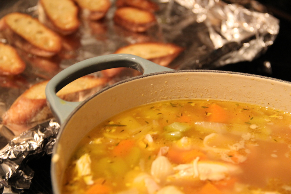 Rotisserie Turkey Noodle Soup.JPG