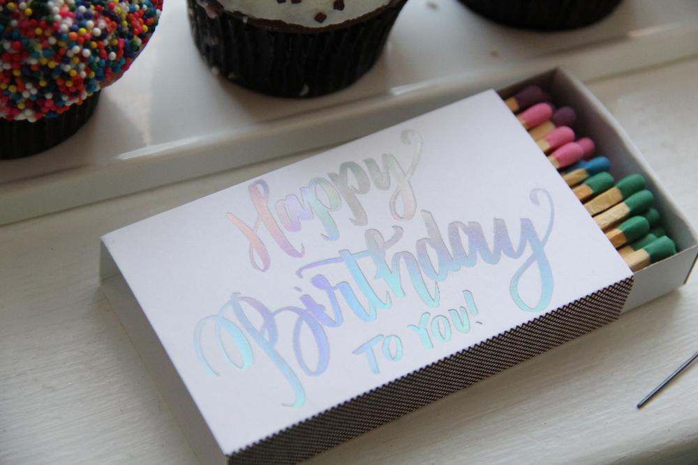 Happy Birthday Matches.JPG
