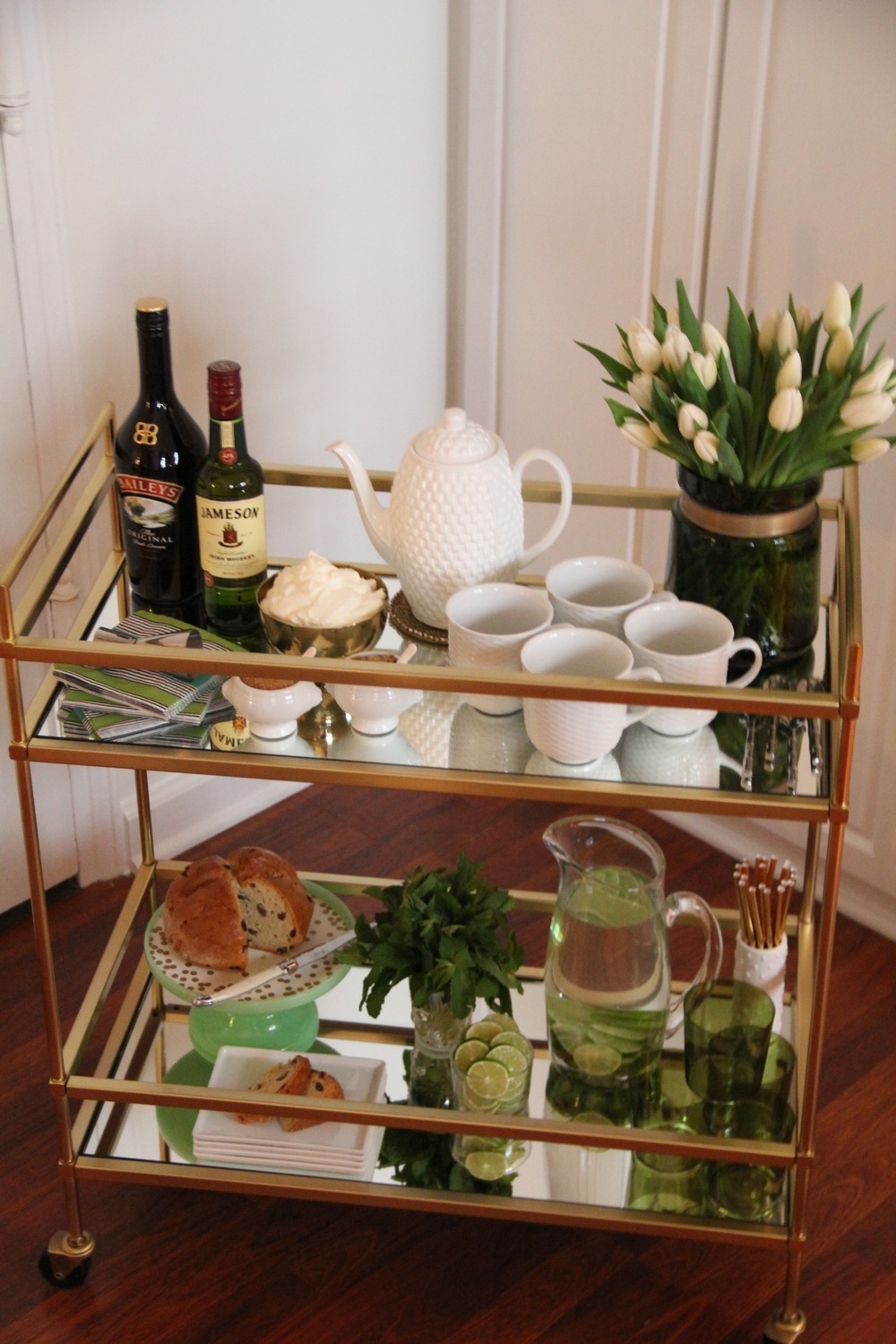 St. Patricks Day Breakfast Bar Cart 1.jpg