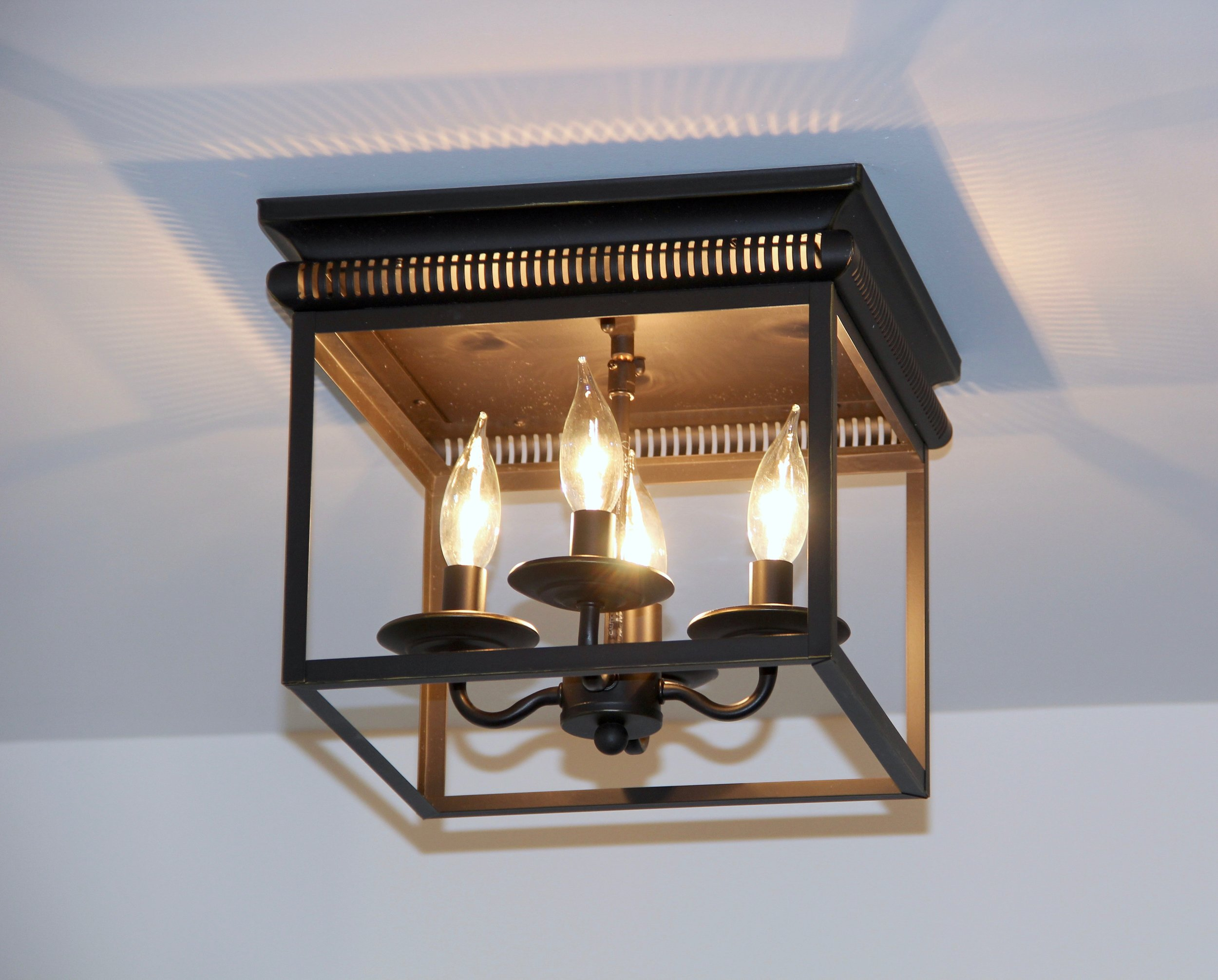 How to hang a lighting fixture