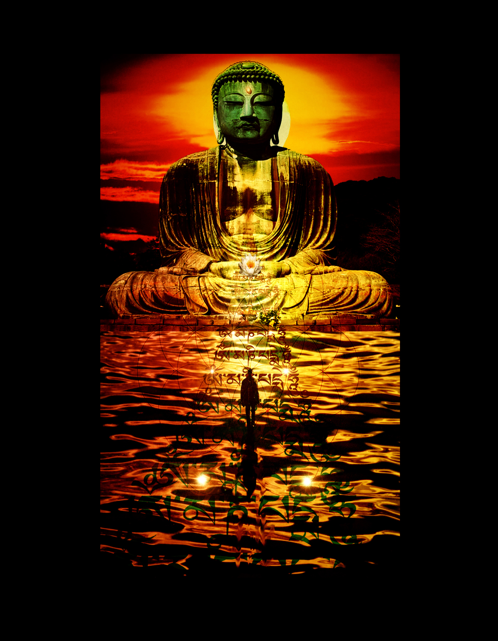 Buddha on the Waterfront