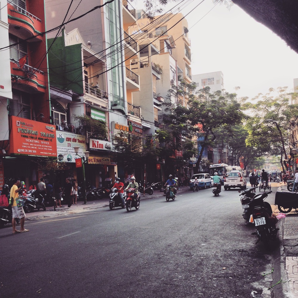 Streets of Saigon, Vietnam