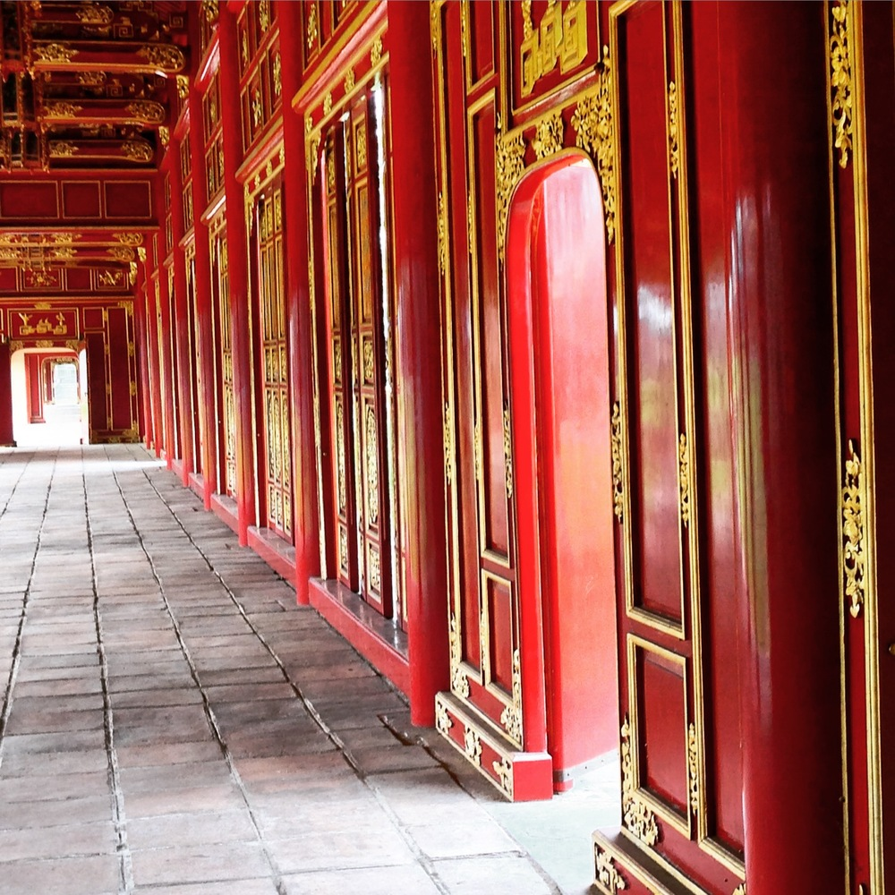 The Imperial Citadel in Hue, Vietnam